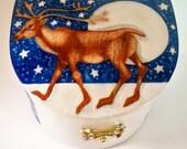 Reindeer Treasure Box