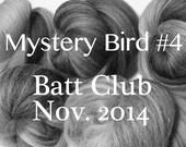 Mystery Bird Batt Club, Month 4: November 2014