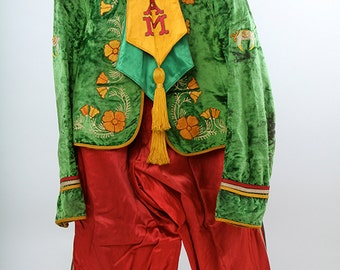 1920s Islam Temple Shriners Masonic Parade Uniform San Francisco Chapter