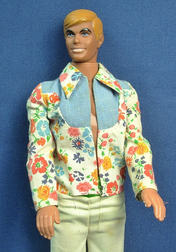 Vintage Retro 60 S Blonde Malibu Ken Doll By Porcelainpalace