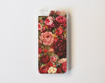 Vintage Roses iPhone 5c Case - Floral iPhone 5c Case - Rose Print iPhone 5c Case - Floral iPhone 5c Case - Accessories for iPhone 5c
