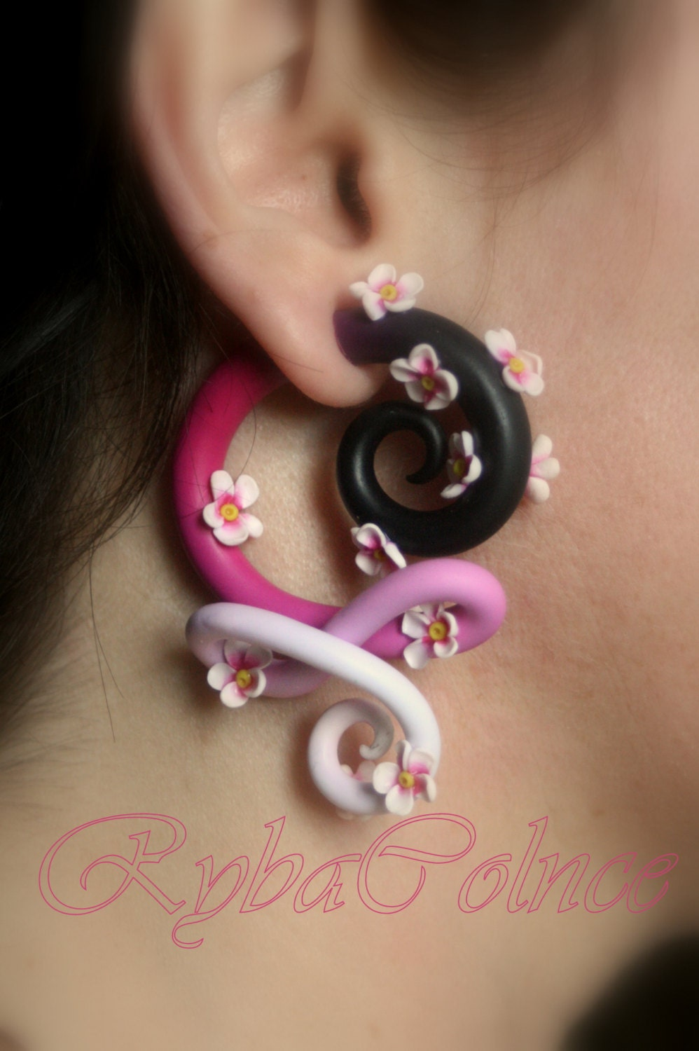 Gauge amp Plug Earrings  Etsy