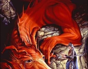 Red Dragon - Bleu Terrell Vintage Poster