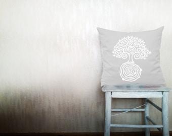Love tree pillows decorative throw pillows tree of life pillows woodland throw pillows Christmas pillow farmhouse pillow 12x12 inches pillow