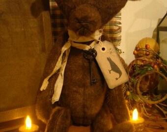 Primitive Brown Bear