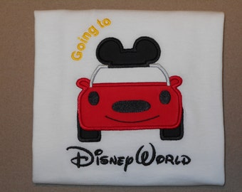 Going to Mister MIss Mouse Car Shirt - Great for your Magical Vacation Airplane