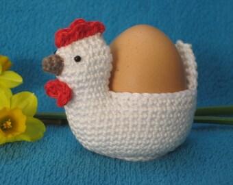 Chicken Egg Holder Cosy Easter Spring Amigurumi PDF Crochet Pattern