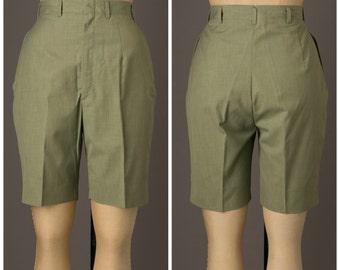 Olive Green Safari Shorts | Mark Hober