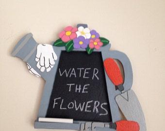 Watering Can Chalkboard