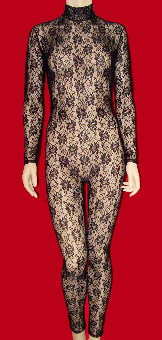 Adult Lace Long Sleeve Asymmetrical Unitard | Beautiful, Lace and ...