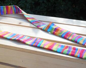 Rainbow Stripe Cool Scarf