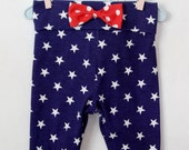 Stars Leggings, 4th of July, Toddler Leggings, Printed Leggings, Leggings, Baby Leggings, Custom