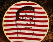 Hank Hill embroidery