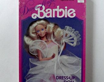 Vintage Dance Magic Barbie colorforms Dress Up Doll