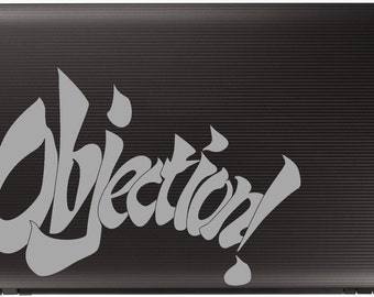 Objection Decal