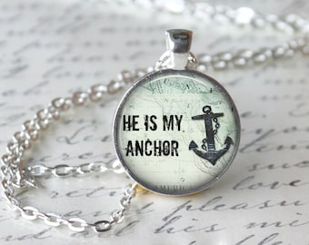 He Is My Anchor Etsy