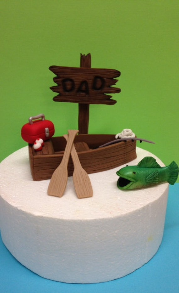 Fondant Sailboat Cake Topper