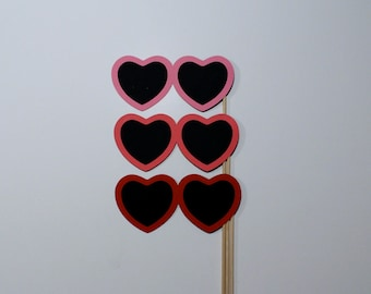 Sweetheart Photo Booth Prop Glasses