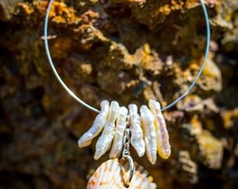 Pearl Envy Loop Necklace 5