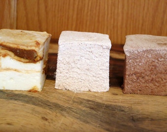 Mexican Collection - Dulce de Leche, Cinnamon, and Mexican Hot Chocolate gourmet marshmallows
