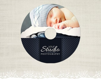 CD/DVD Label - Photography CD Label Template -CD01