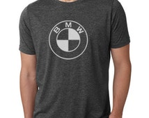 New BMW motorcycle t shirt motorcycle cafe racer vintage style