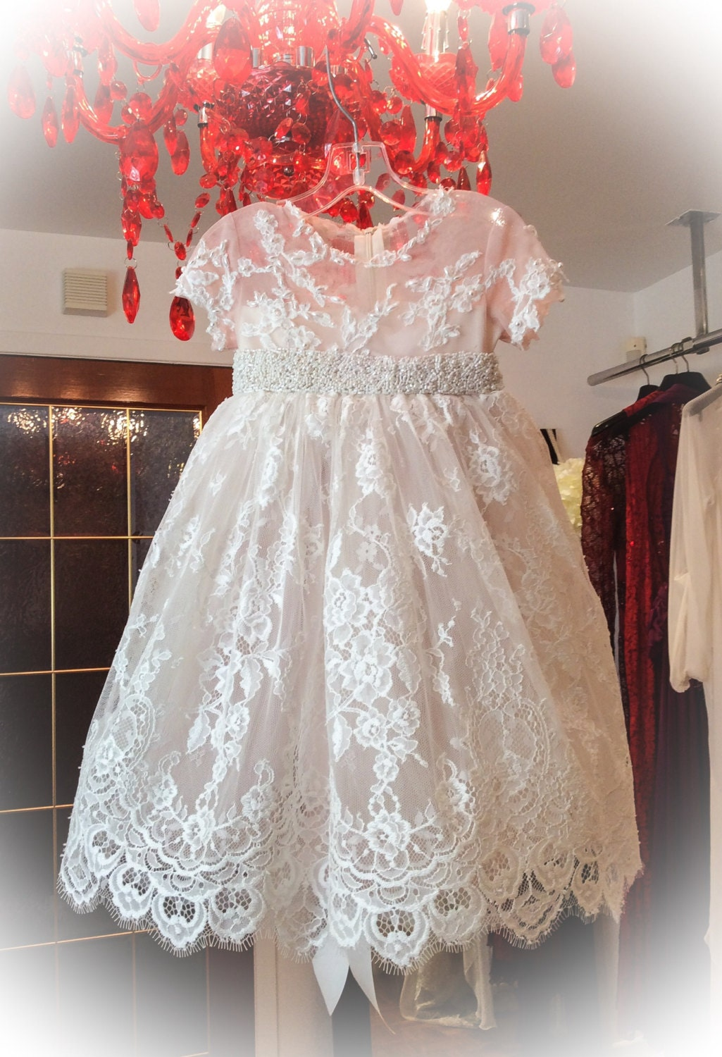 Baptism Dress Lace Baptism Dress Lace Christening Dress
