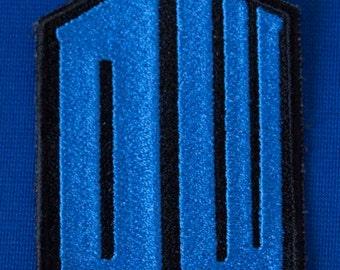 Dr. Who Tardis Logo Patch