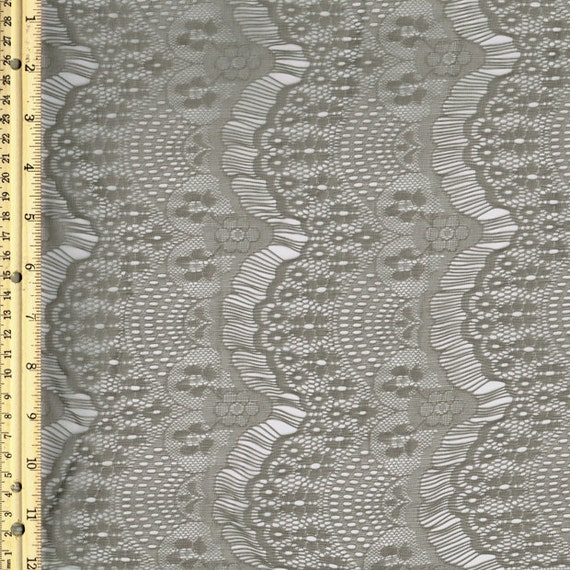 Truffle stretch eyelash lace fabric by the yard or wholesale for Cheap fabric by the yard