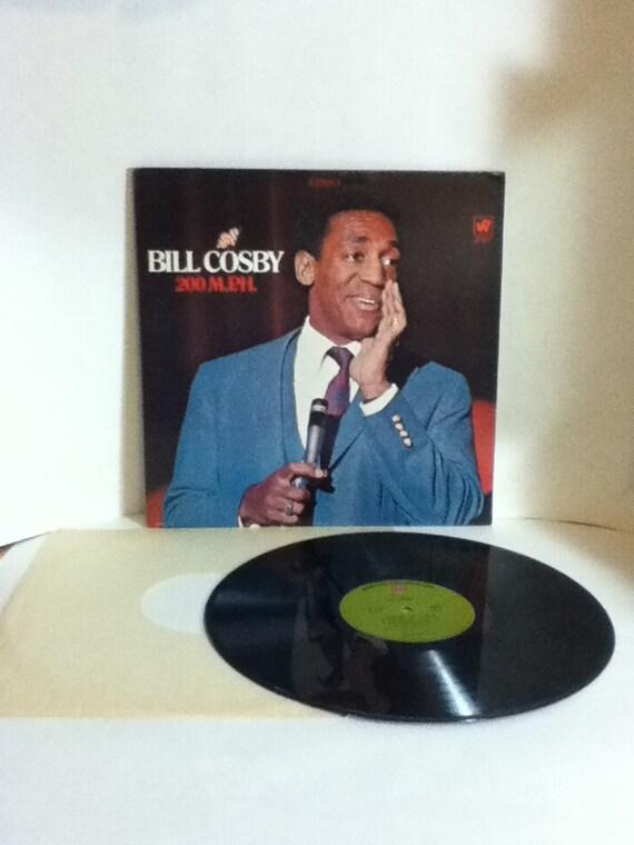 Bill Cosby 200 Mph Vintage Vinyl 33 Lp Record Album 1968