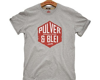T-Shirt Pulver & Blei 6th red