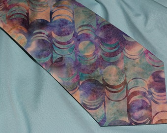 Men's Necktie, 'Eclipse'