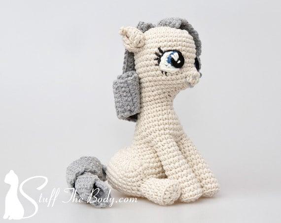 Amigurumi My Little Pony Patron : Sentado Pony patron de Amigurumi patrones de por StuffTheBody