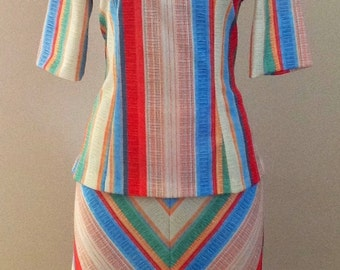 Sears 70's lovely Vintage handmade outfit