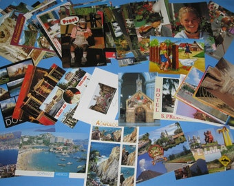 112 Postcards '92 - '94 Germany Italy Mexico - Scenic - Landscape - Crafting - Scrapbooking