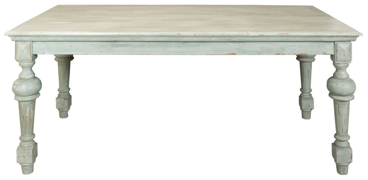Custom painted shabby chic distressed by forgetmenotscottage - Painted dining tables distressed ...