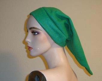 Green Link Fleece Hat Zelda Cosplay Costume