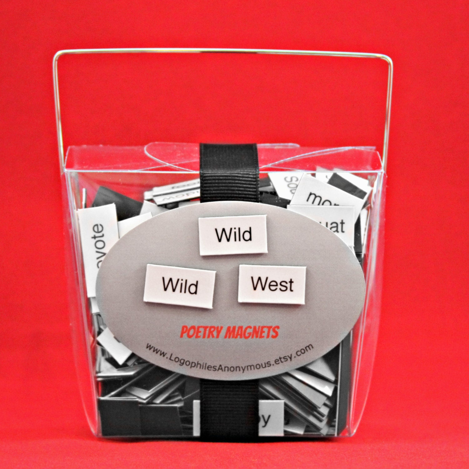 Wild West/Cowboy/Western Themed Poetry Magnet Set