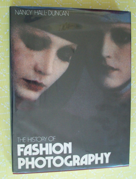 Rare stunning book The History of Fashion Photography by Nancy Hall-Duncan - il_570xN.589963307_7kjo