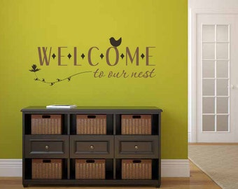 Popular items for welcome wall art on Etsy