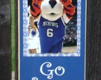 Memphis Go Tigers Clip Frame