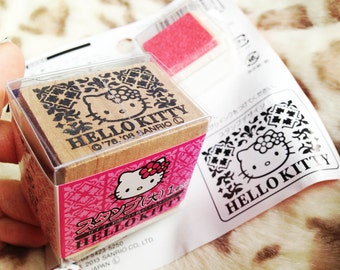 Hello Kitty Motif: Rubber Stamp Set