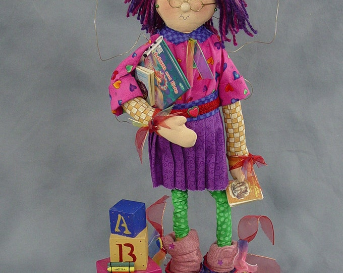 """Featured listing image: Pattern: Ashley - 22"""" School Girl Fairy"""