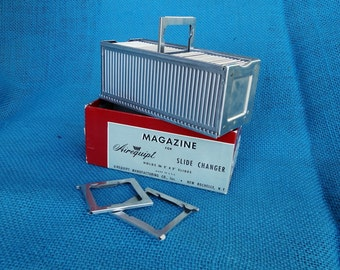 Vintage Airequipt Aluminum Slide Changer Magazine Holder 36 - 2x2 Slides