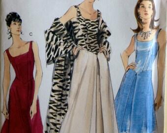 Vintage Vogue Design 1990's Dress Pattern