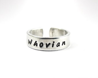 Whovian Ring, Doctor Who Fans Ring