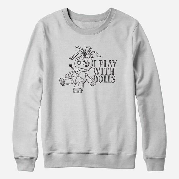 Sweatshirt - Funny voodoo doll sweatshirt - You Choose Color