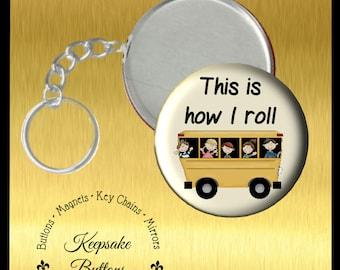 "25"" Bus Driver Key Chain, Sc hool Bus Driver Appreciation Gift, This ..."