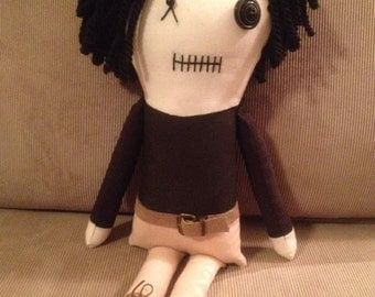 "Creepy n Cute Zombie Doll - ""Glenn"" - Inspired by TWD (D & P)"