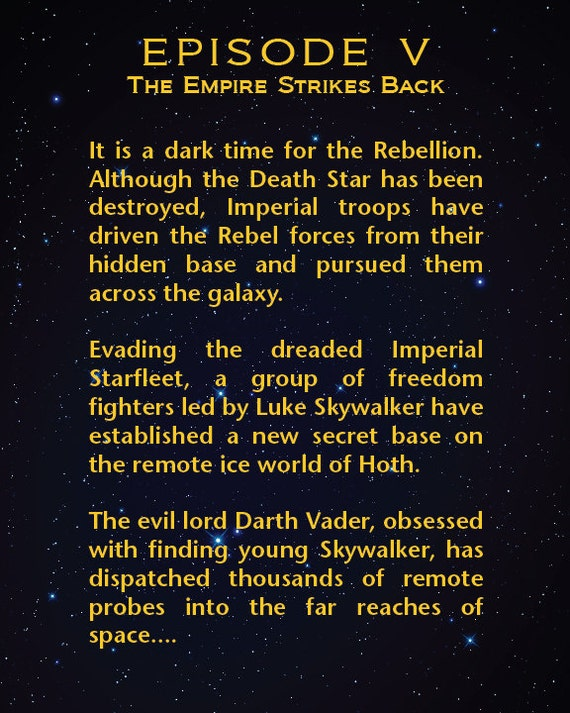 opening sequence of star wars episode iv a new hope essay Blue stars exist, god  since a bluer star in the main sequence has a shorter life  any more than lord of the rings, star wars, or other.